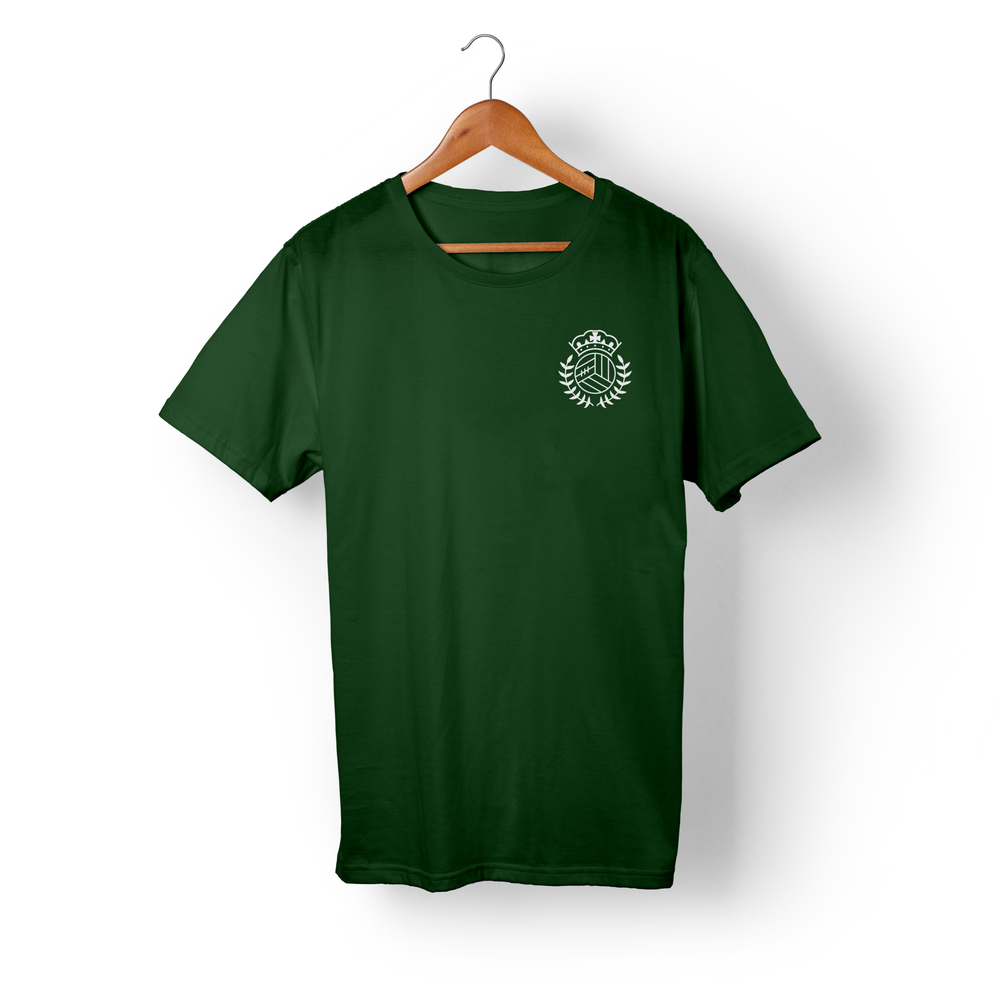 Image of Crown Logo – Bottle Green T-shirt