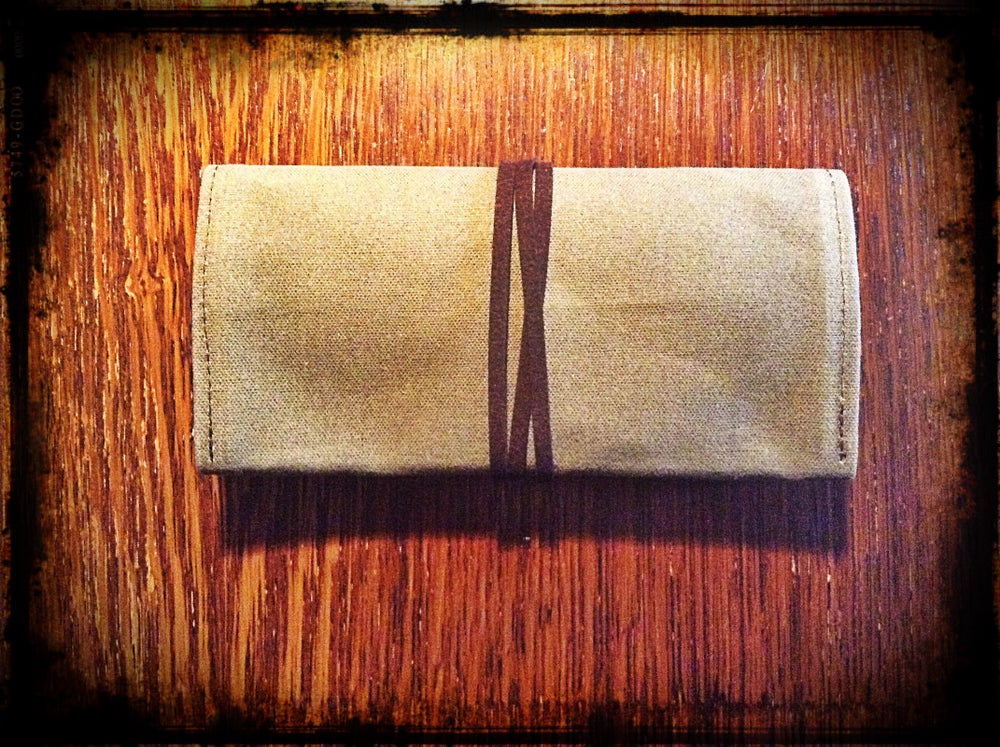 Image of Trifold Double Pocket Pouch