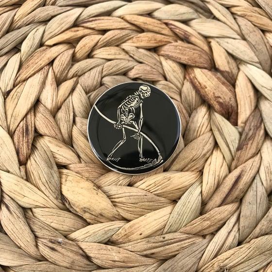 Image of final harvest enamel pin
