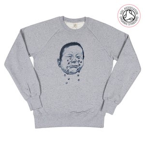 Image of Cryhard Grey Twist Sweatshirt