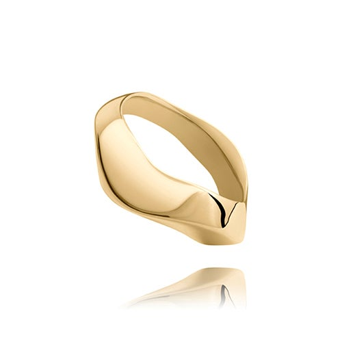 Image of Les vagues n° 141. 18ct gold