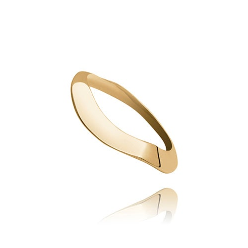 Image of Les vagues n° 136. 18ct gold
