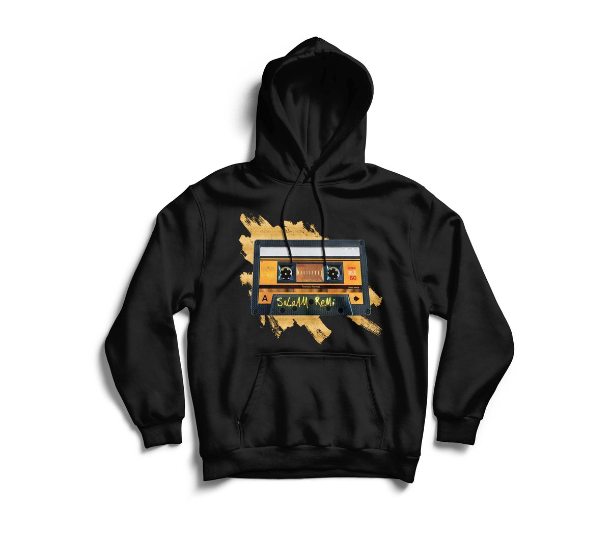 """Image of Personalized Black """"BeAt TaPe"""" Hoodie"""