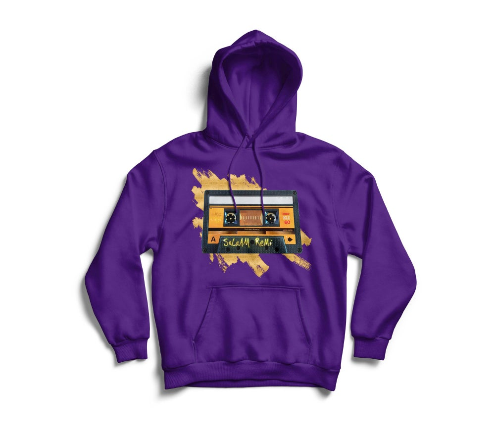 "Image of Personalized Purple ""BeAt TaPe"" Hoodie"
