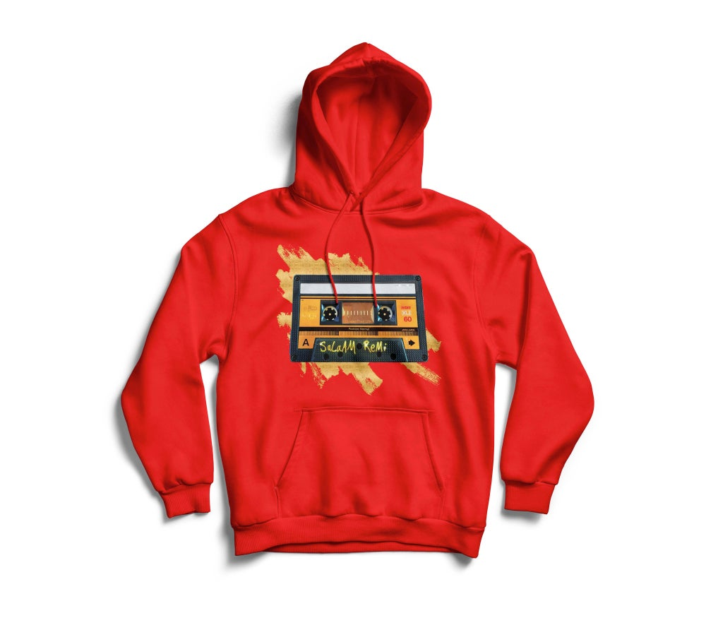 "Image of Personalized Red ""BeAt TaPe"" Hoodie"