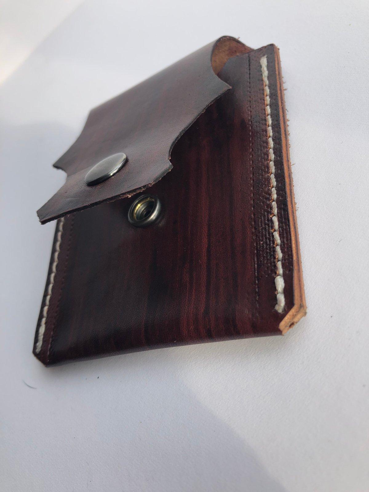Image of Single pocket belt wallet