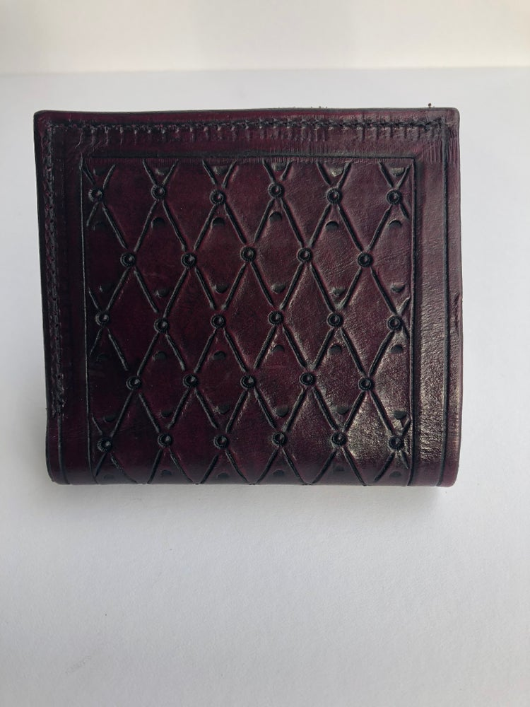 Image of 2 card slot folding wallet