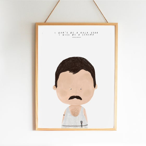Image of GREAT PEOPLE LIKE FREDDIE ILLUSTRATION