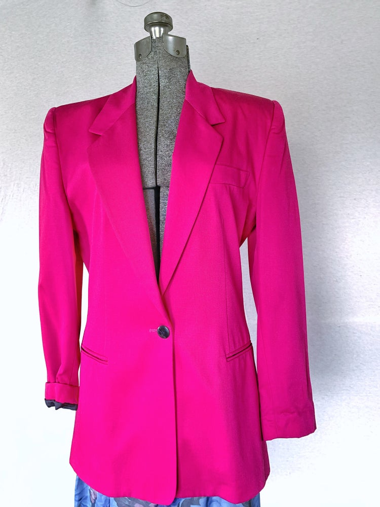 Image of Hot Pink Blazer — 4