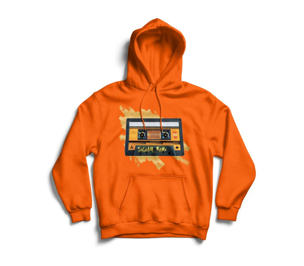 "Image of Personalized Orange ""BeAt TaPe"" Hoodie"