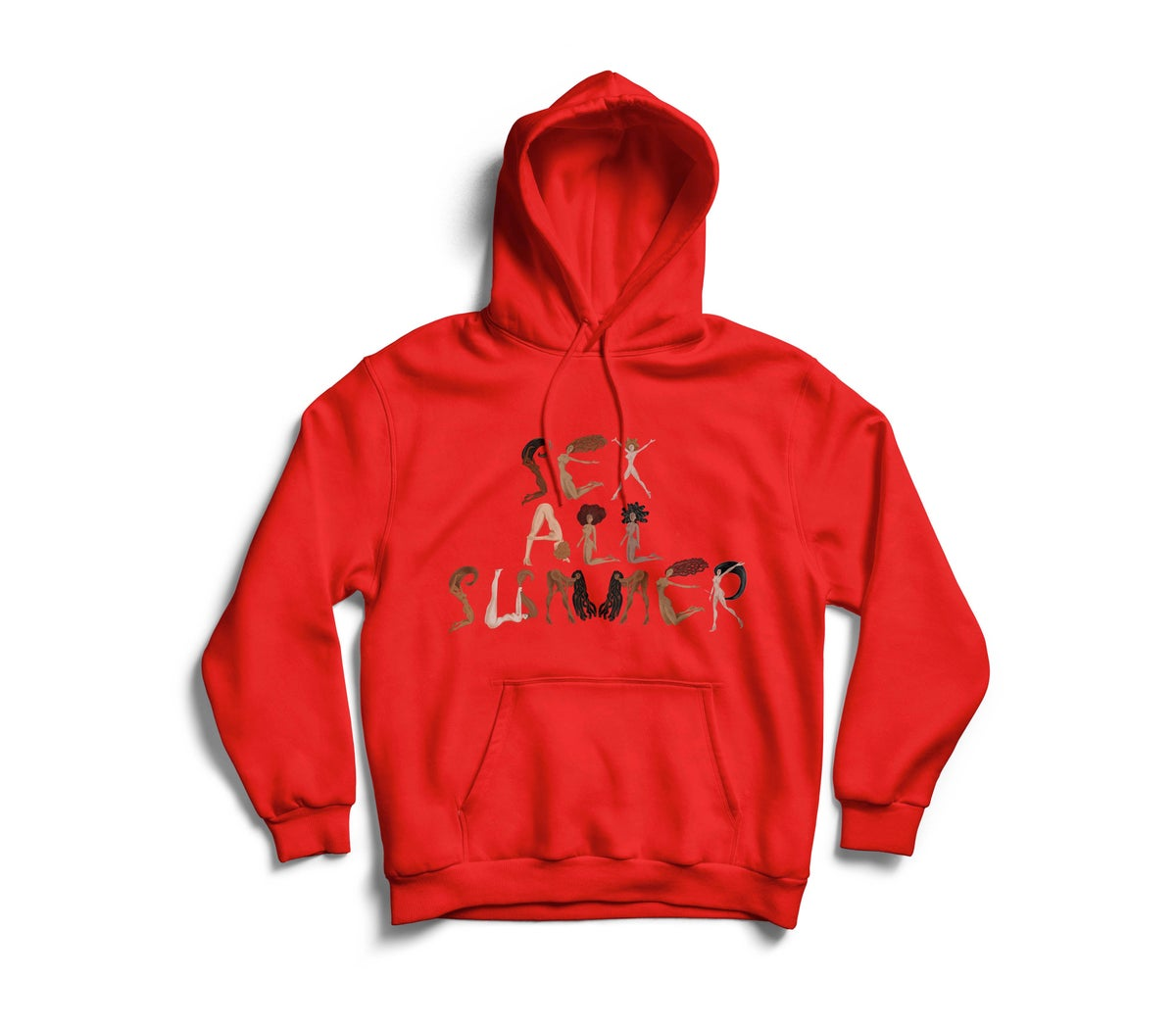 "Image of Red ""SeX All SumMeR"" Hoodie"