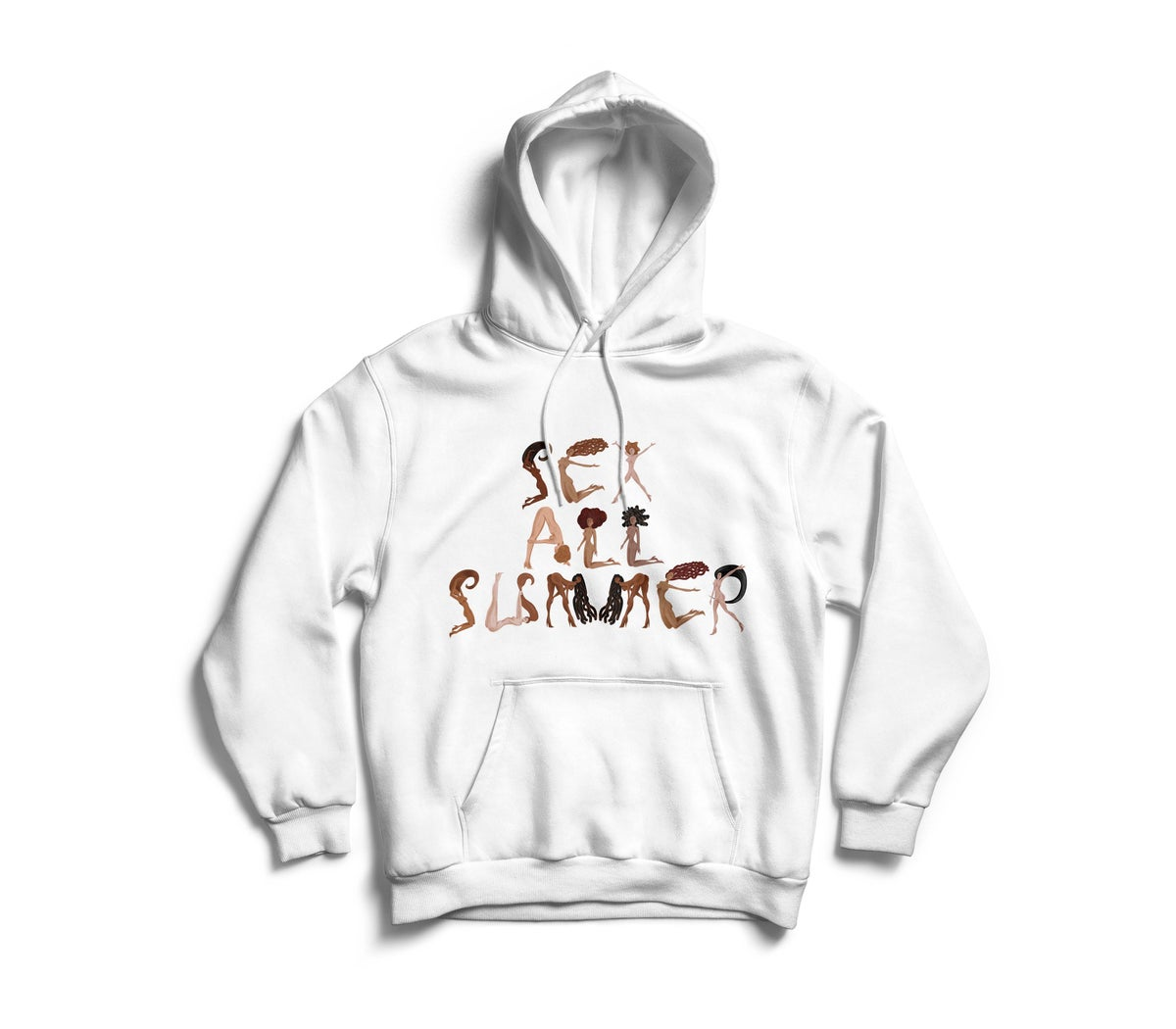 "Image of White ""SeX All SumMeR"" Hoodie"