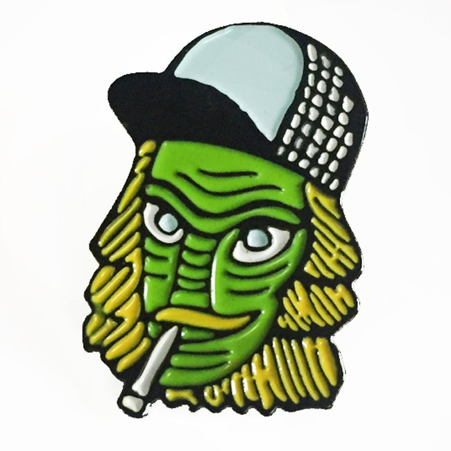 Image of Trashy Creature from the Trailer Park Enamel Pin