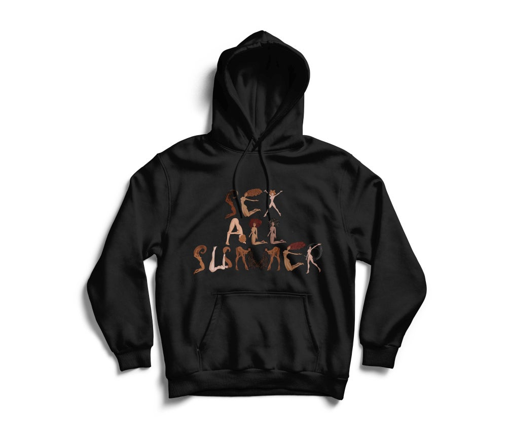 "Image of Black ""SeX All SumMeR"" Hoodie"