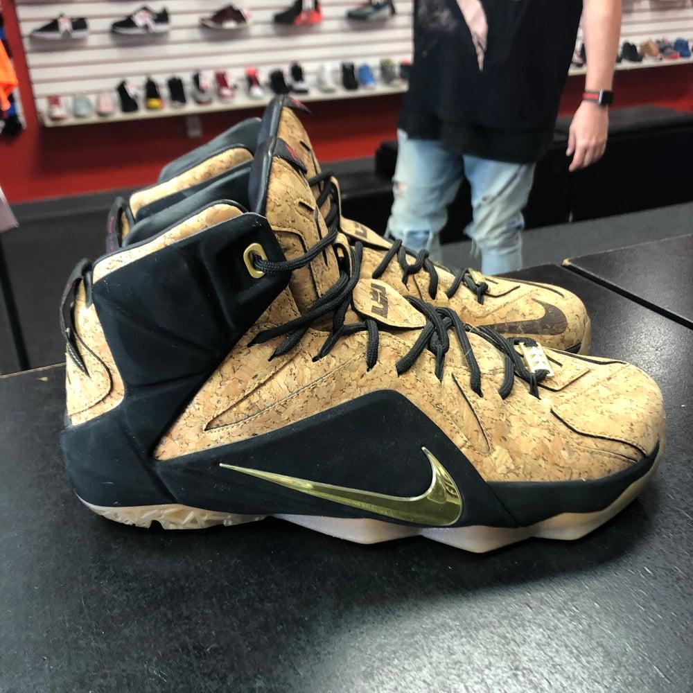Image of Nike Lebron 12 EXT - Cork - Size 10