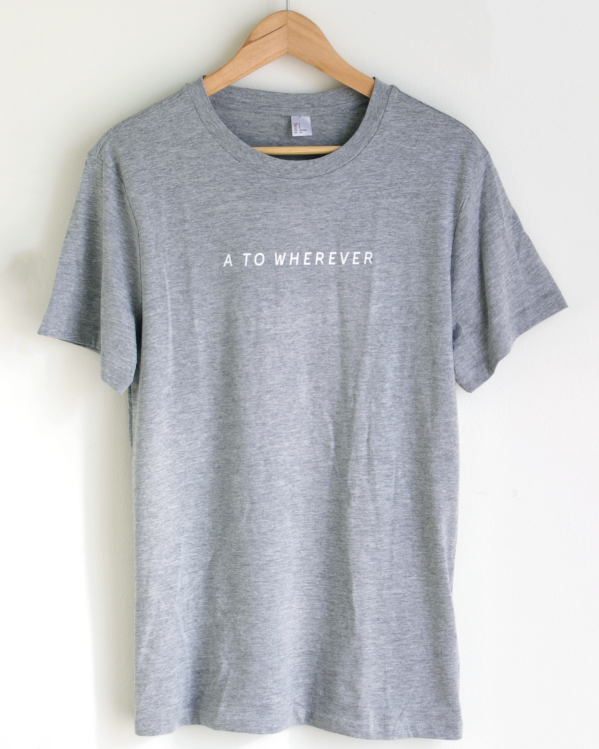 Image of Signature Tee - Grey