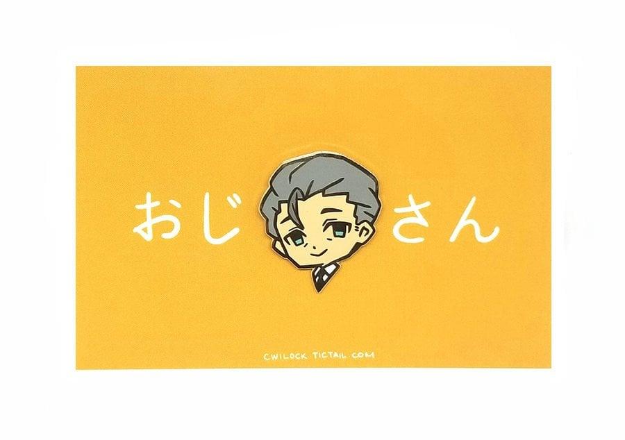 Image of Ojisan Enamel Pin