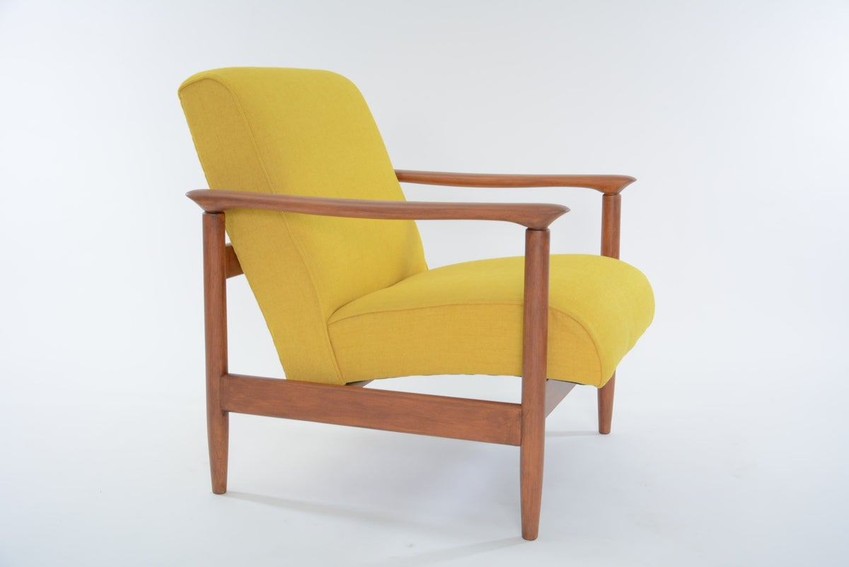 Image of Fauteuil Carré jaune