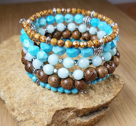 Image of Tempting Turquoise Bracelet