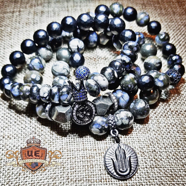 Image of UrbanEllegance Black Radiance Bracelet