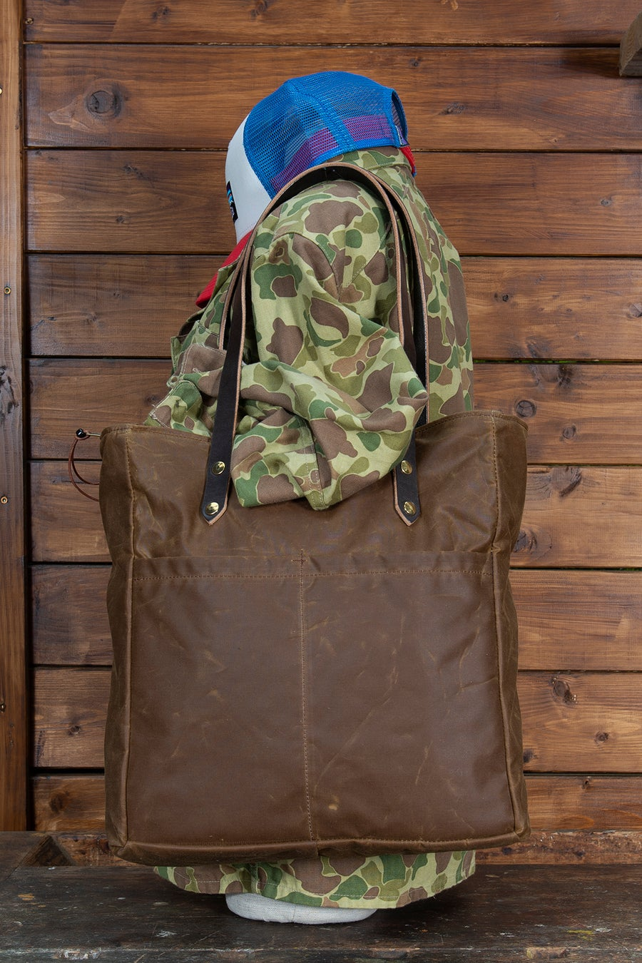 Image of Shopper - Waxed canvas collection - 4 colours available