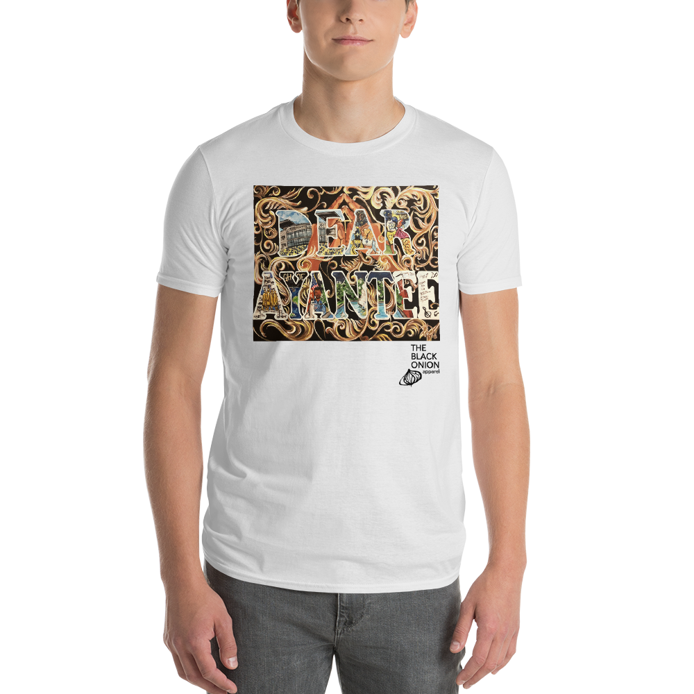Image of DEAR AYANTEE   WHITE (SHORT SLEEVE)