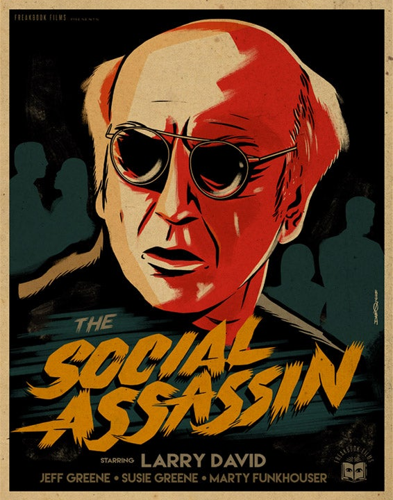 Image of The Social Assassin - Print
