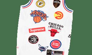 Image of Supreme Nike/NBA Teams Authentic Jersey White Sz 52