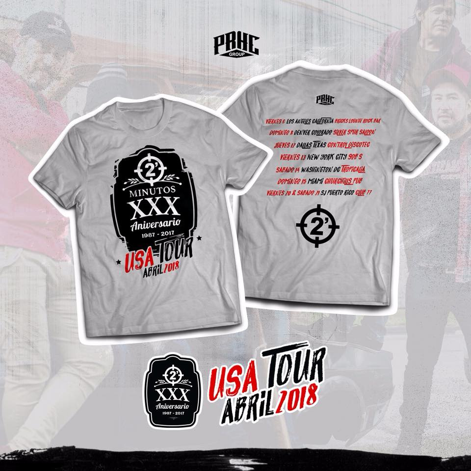 Image of 2 Minutos 30 Aniversario USA Tour 018