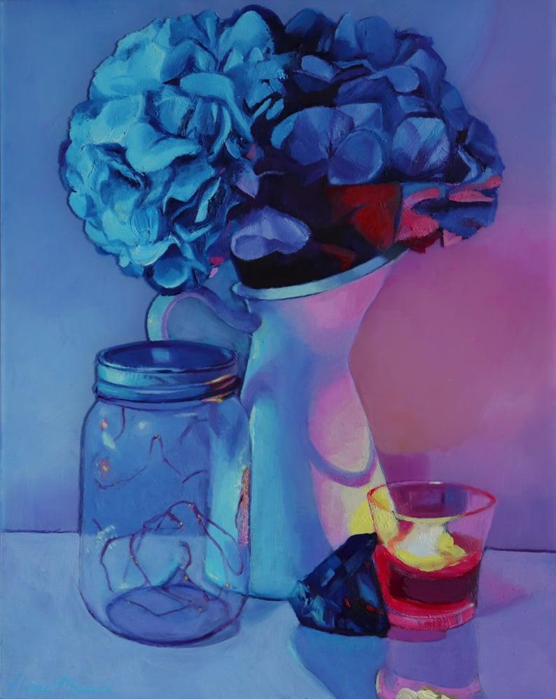 Image of Hydrangea Still-life