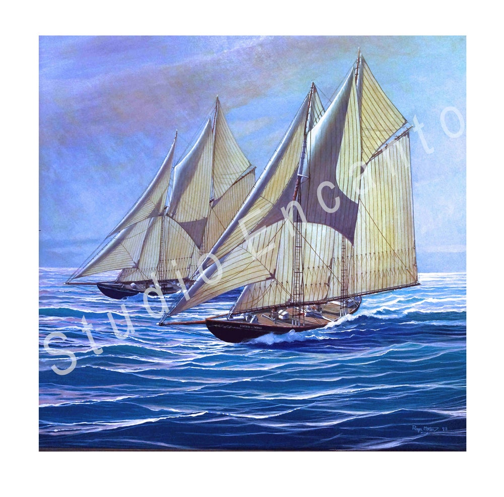 Image of Last Schooner Race by Captain Roger C. Horton