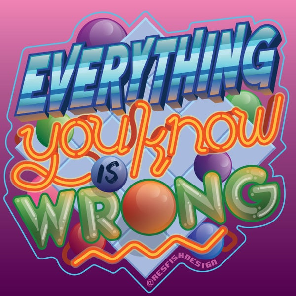 Image of Everything You Know is Wrong MAGNET