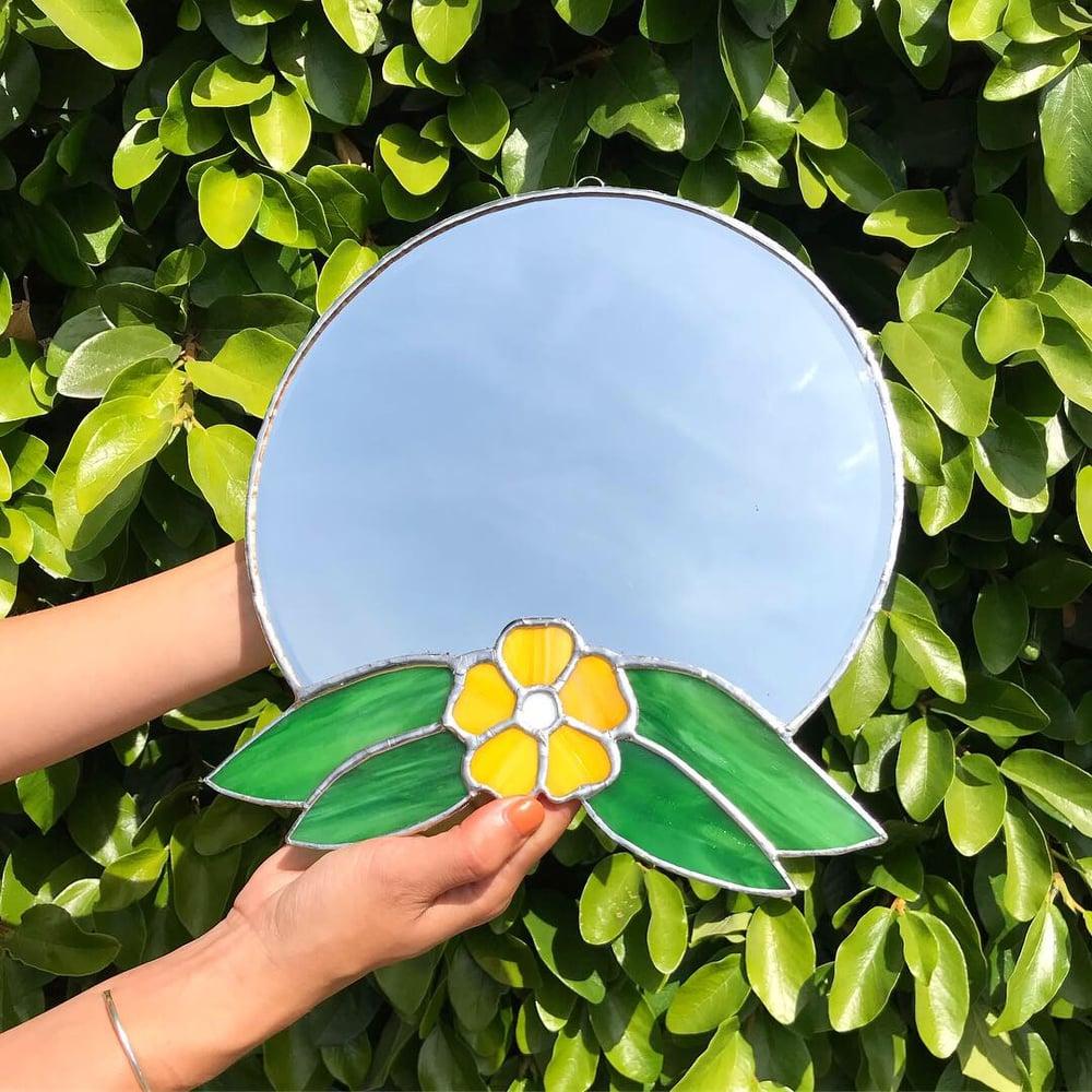 Image of  Flower Mirror