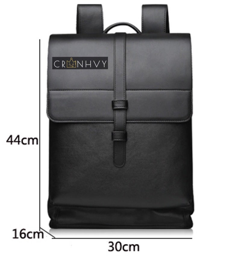 Image of CRWNHVY Leather Travel Bag