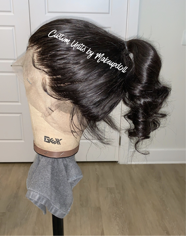"Image of ASHLEY 14"" Gluless Full Lace Wig!"