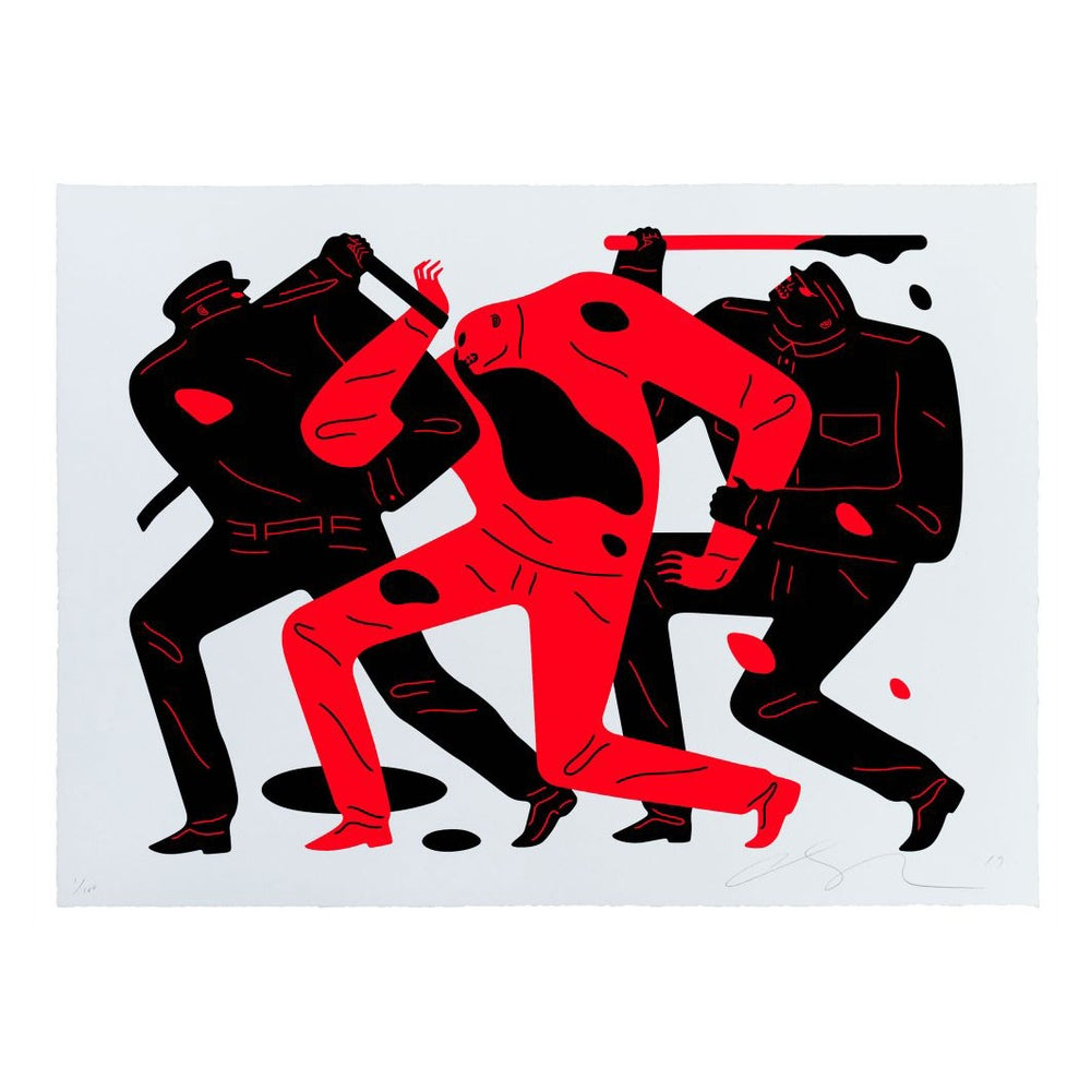Image of Cleon Peterson - The Desapear White - last one