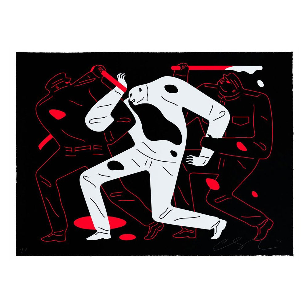 Image of Cleon Peterson - The Desapear Black- last one