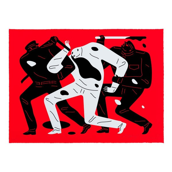 Image of Cleon Peterson - The Desapear Red - last one