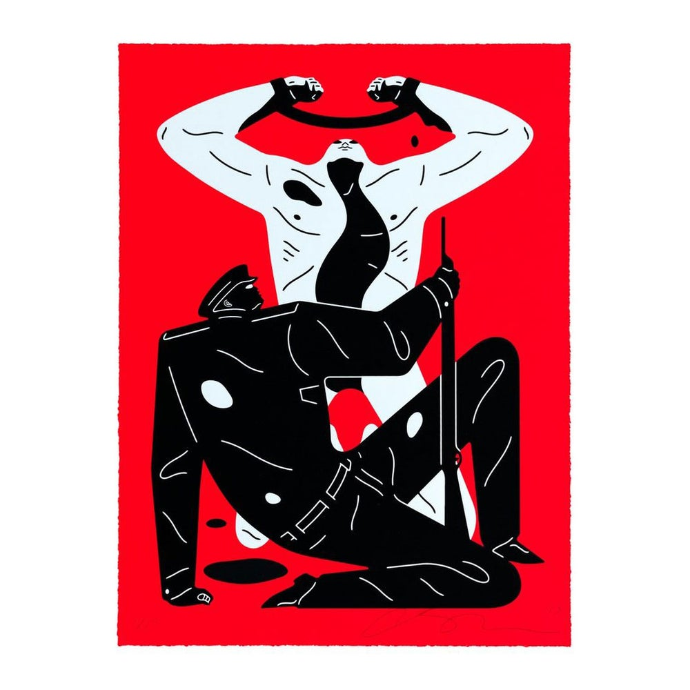 Image of CLEON PETERSON - THE COLABORATOR - Red