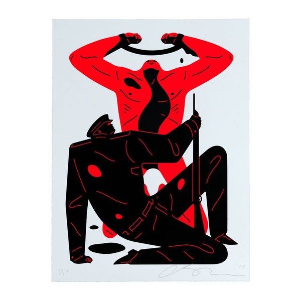 Image of CLEON PETERSON - THE COLABORATOR - White