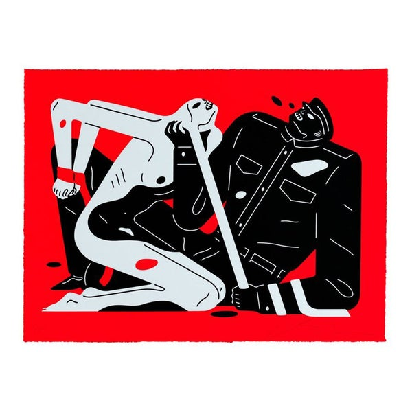 Image of CLEON PETERSON TALK TALK TALK Red