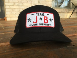 Image of JB license plate trucker hat