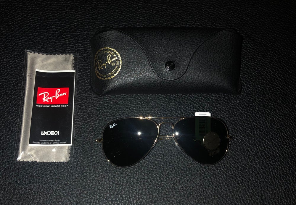 Image of Ray-Ban Aviators RB3025 - Brand New