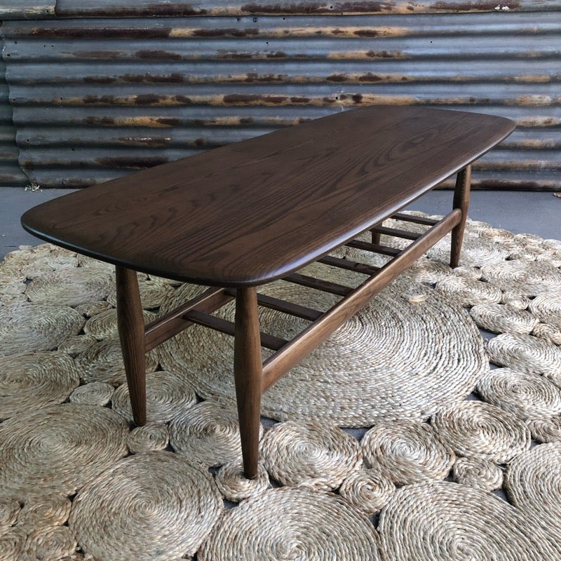 Image of TH Brown Frisco coffee table Dark Ash
