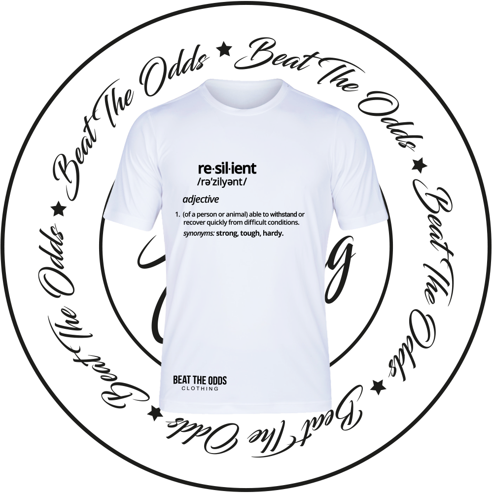 """Image of """"Resilient Defined"""" Tee"""