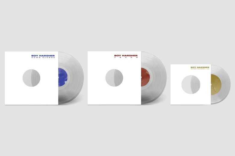 Image of 'Careful Remixes, etc.' DELUXE EDITION - Crystal clear vinyl *PRE-ORDER*