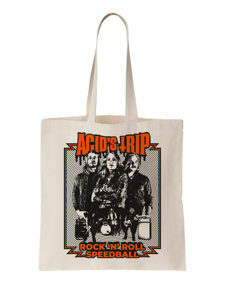 "Image of Totebag ""Rock'n'Roll Speedball"""