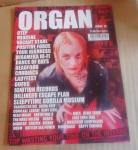 Image of ORGAN ZINE issue 74, 2002