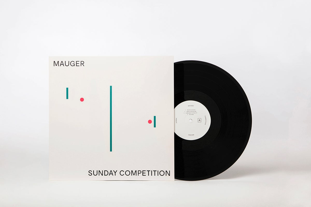 Image of MAUGER/Sunday Competition (LP)