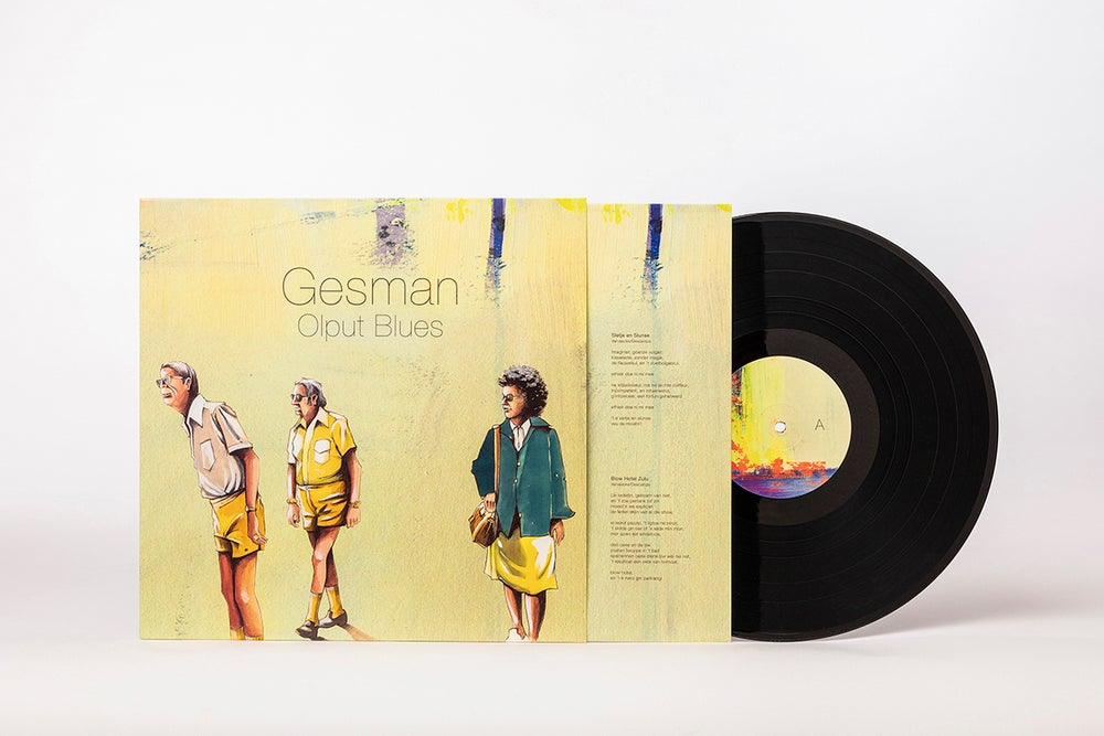 Image of Gesman/Olput Blues (LP)